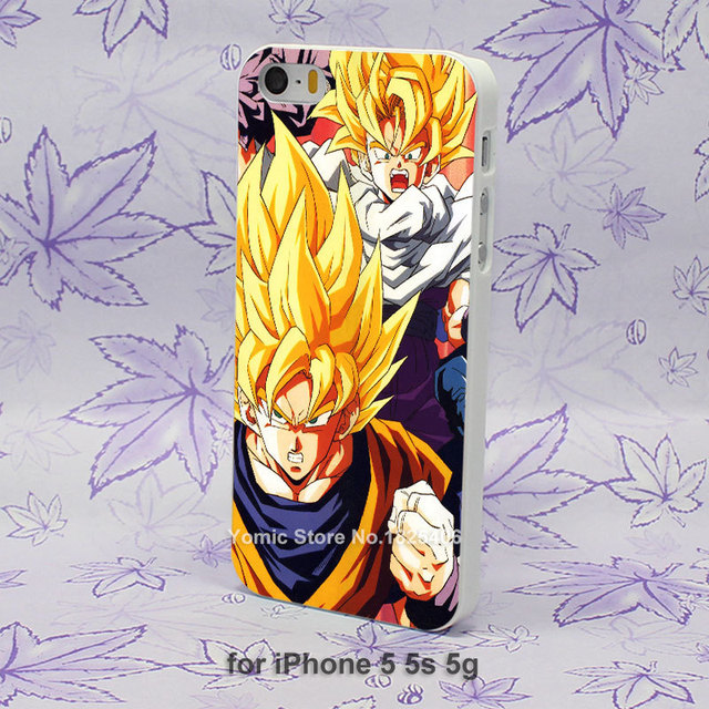 Dragonball Z Goku Pattern Hard Case Cover for iPhone