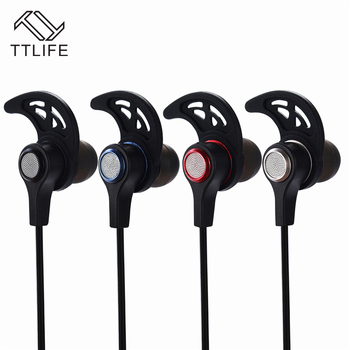 TTLIFE BT550 Wireless Earphone Bluetooth V4.2 240mAh with Mic Best Sound Rotary Earbuds Noise Cancel Headphone for IOS Android sy bt550