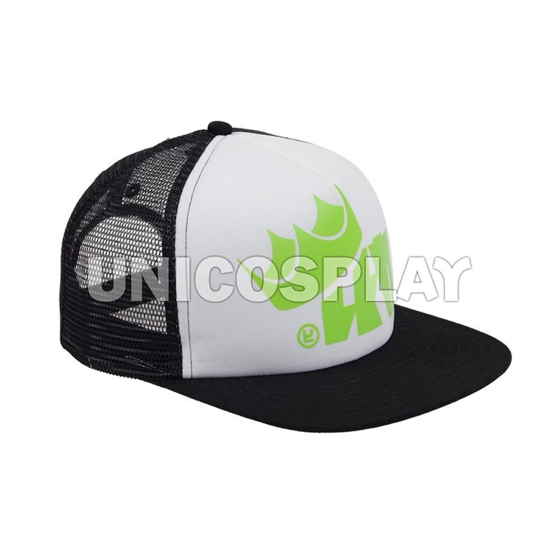 Splatoon 2 Splatfest King Flip Trucker Cap Squid Mesh Hat Green Adjustable  Baseball Caps Halloween Costume Accessories 066eabe498f6