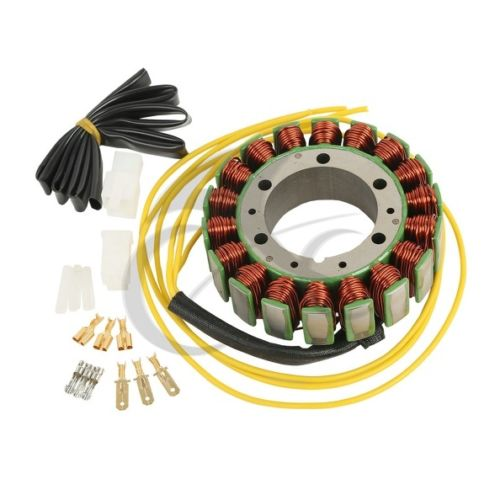Motorcycle Magneto Stator Coil Generator For HONDA CX500/650 GL500/650 SHADOW motorcycle magneto engine stator generator charging coil copper wires for honda cx500 cx650 gl500 gl650 suzuki gv1200 1985 1986