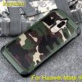 Keysion Case для Huawei Mate 9 Армии Камо Камуфляж 2 в 1 Pattern PC + TPU Броня антидетонационные Защитный Задняя Крышка для Mate 9