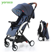 Baby Stroller Folding Baby Carriage 5kg Lightweight Prams For Newborns Fortable Baby Cart For Travel With Sitting & Lying Modes