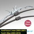 """Escovas para Ford Focus C-max (2003-2007) e para a Ford C-max (2003-2010) 26 """"+ 19"""" ajuste lateral braços do limpador do tipo pino apenas HY-006B"""