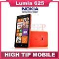 Desbloqueado nokia lumia 625 original teléfono móvil táctil de 4.7 pulgadas pantalla Dual core GPS WIFI 3G 4G red envío gratis reformado