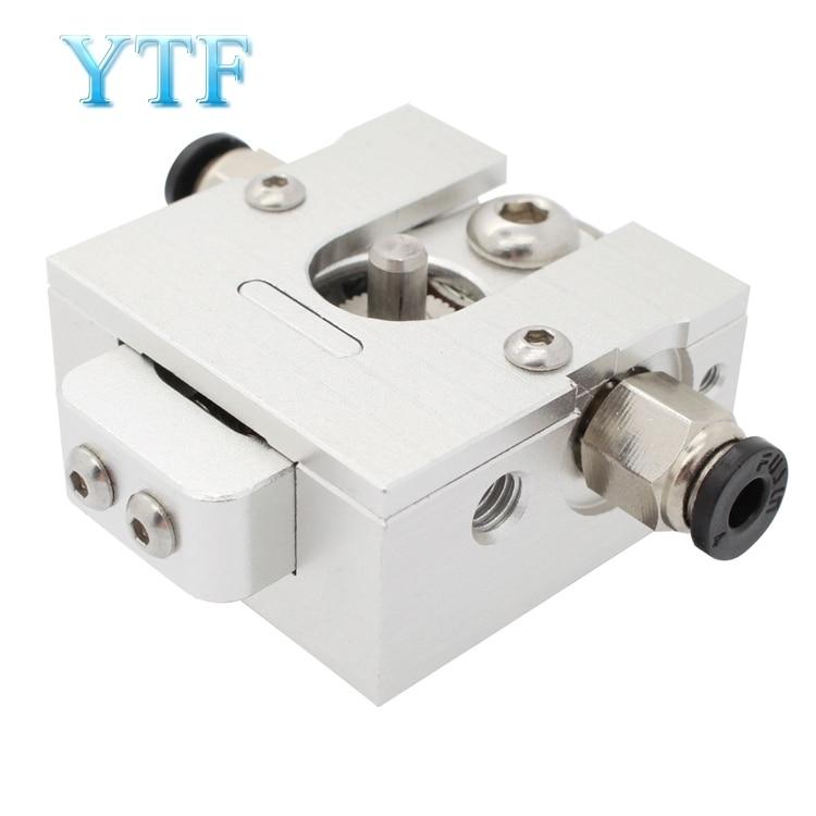 DIY Reprap Bulldog All-metal For 1.75mm Compatible J-head MK8 Extruder Remote 3D Printer