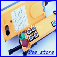 4 Channel 1 Speed Hoist Crane Truck Radio Remote Control System With E Stop