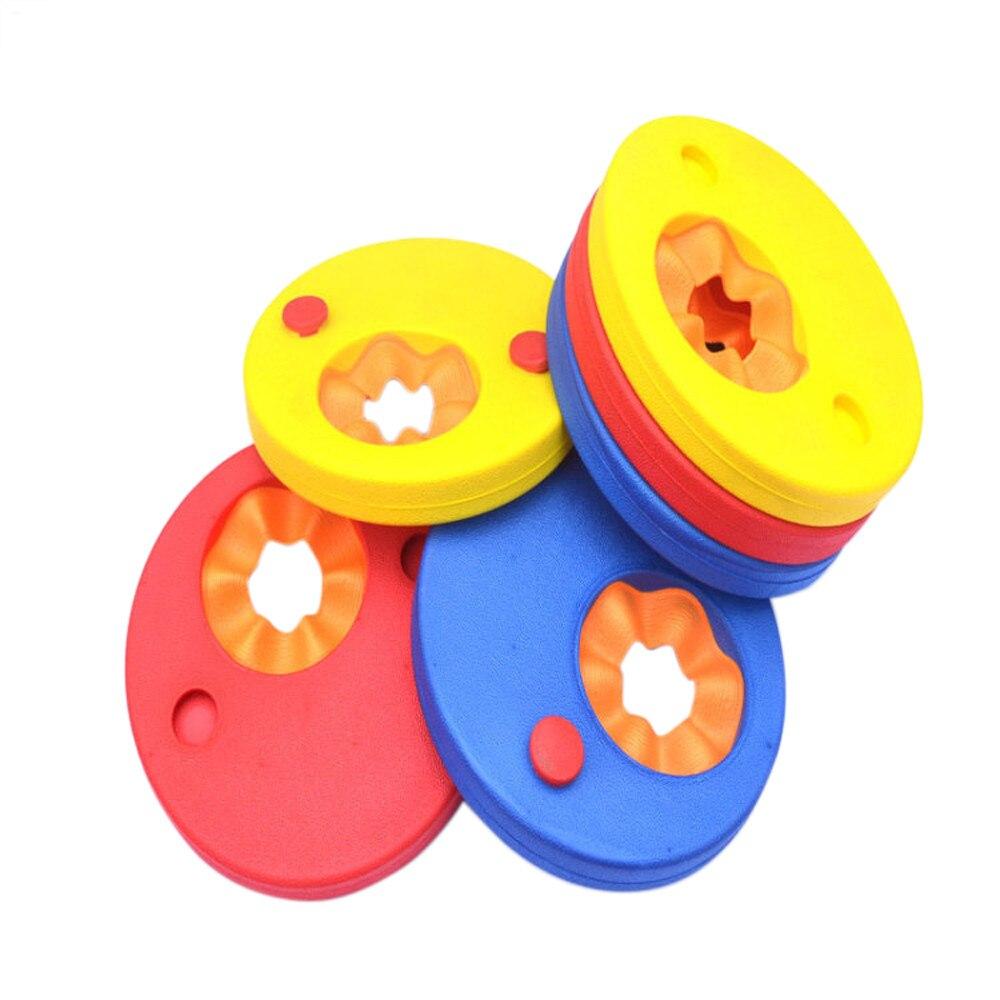 6 шт. пены eva Плавание диски нарукавные повязки плавающие рукава доску Плавание Ming упражнения плавучести круги кольца
