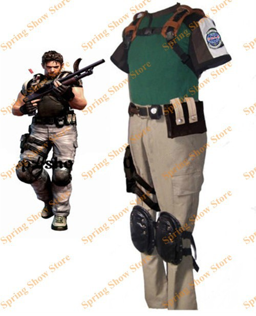 ᗐbiohazard 5 Resident Evil 5 Chris Redfield Cosplay