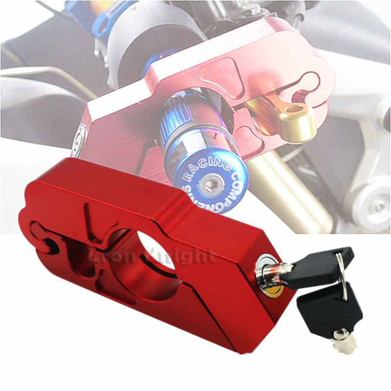 For HONDA CRF1000L Africa Twin ABS/DCT Motorcycle Handlebar Lock Scooter ATV Brake Clutch Security Safety Theft Protection Locks