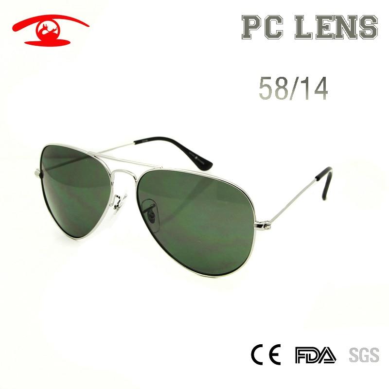 2016 New Fashion Pilot Sunglasses Men 3025 58mm Size Sun Shade lunette de soleil masculino Gradient Lens Sun Glases Women