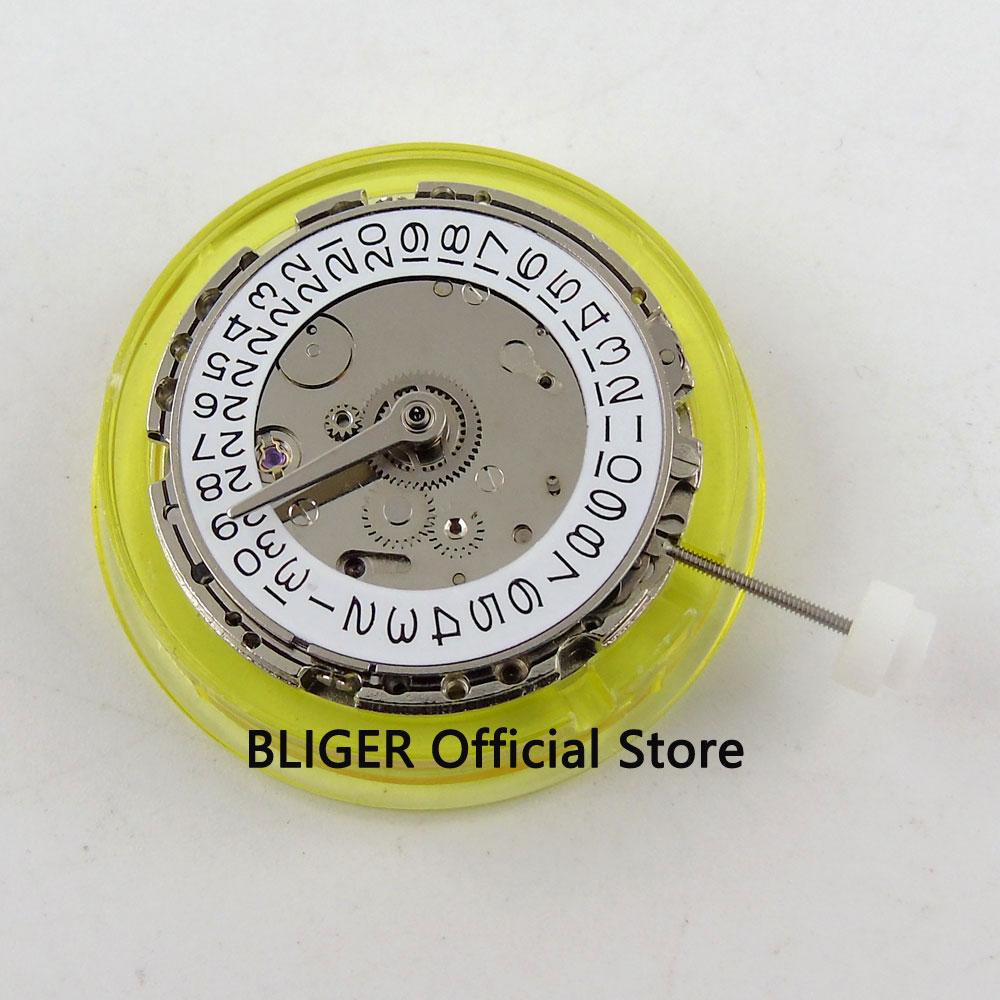 Mécanique Mingzhu 3804 mouvement automatique affichage de la date mouvement de montre GMT BM13-in Montre Enrouleurs from Montres    1