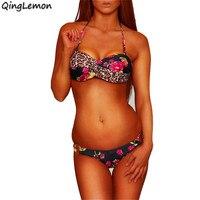 2014 NWT Sexy Women Lady Girl Twist Dot Bandeau Push Up Padded Swimwear Bra Bikini Swimsuit