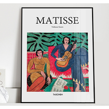 Portrait Canvas Painting Henri Matisse Wall Art Poster Vintage Decoration Home Print Pictures