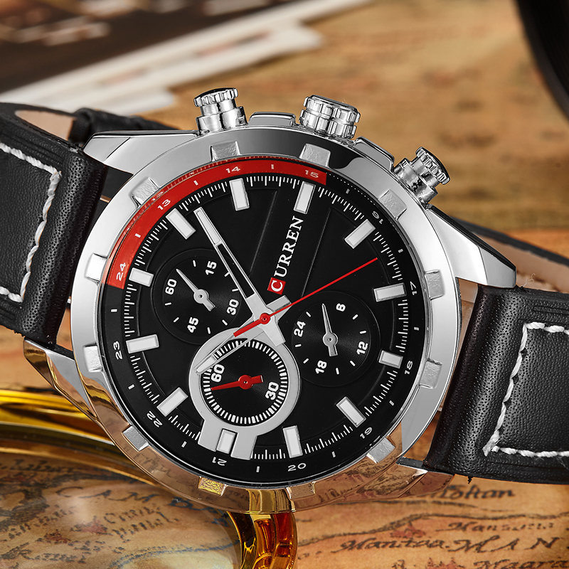 2017 Curren Top Luxury Brand Sports Men Watch Quartz Watches Men Clock Male Leather Waterproof Wristwatch Relogio Masculino 8216 read men watch luxury brand watches quartz clock fashion leather belts watch cheap sports wristwatch relogio male pr56