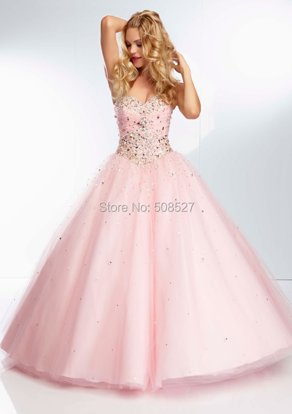4e55aefab7 2016 New Custom Made Pink Satin Tulle Pleat Beading Diamond A-line Charming  Prom Dress Prom Gown Formal Party Dress