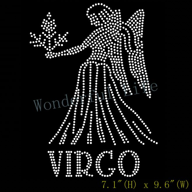 US $39 6 60% OFF|Free shipping Virgo Zodiac Horoscope Astrology sign  Rhinestone Transfer-in Rhinestones from Home & Garden on Aliexpress com |  Alibaba