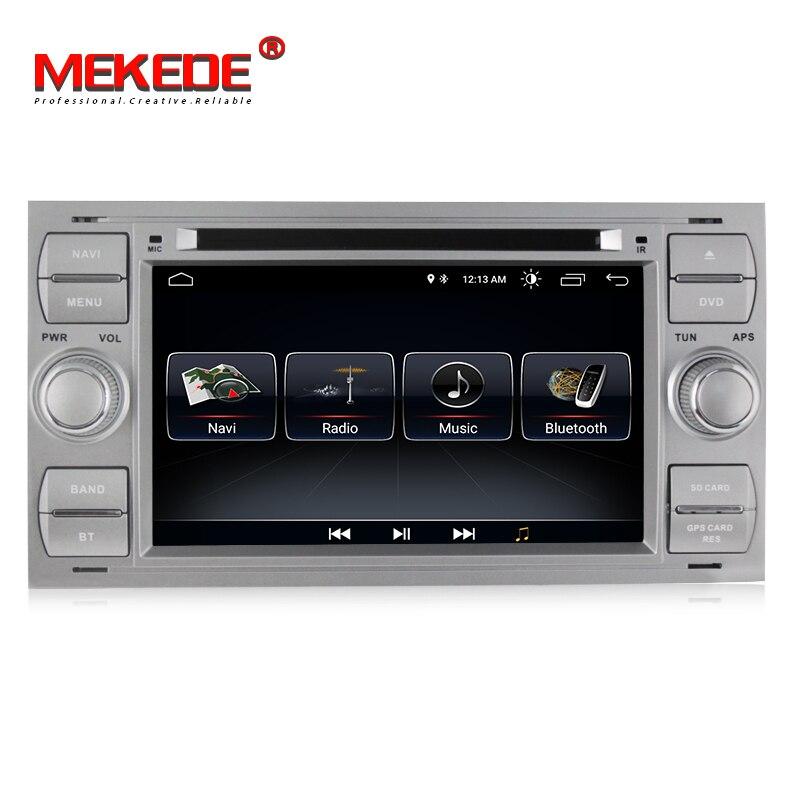 MEKEDE 600x8,1 Android 1024 для 2Din 7 дюймов Автомобильный DVD для FORD FOCUS1 2005 Galaxy Transit 2007 2006 с радио gps 1080 P Автомобильный dvd