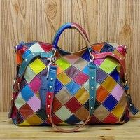 Sac a Main Femme De Marque Luxe Cuir 2019 Bolsa Feminina Torebka Damska Genuine Leather Handbag Women Shoulder Bag Ladies Bolsos