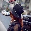 2016 летний новый широкими полями соломенные шляпы солнца женский свободного покроя шапки для женщин Chapeu Fedoras бесплатная доставка SCCDS-020
