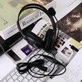 Горячая USB Проводная Игры Live Gaming Гарнитура Музыка Стерео Наушники Earpphones Микрофон Для PS3 PC La горячий новый