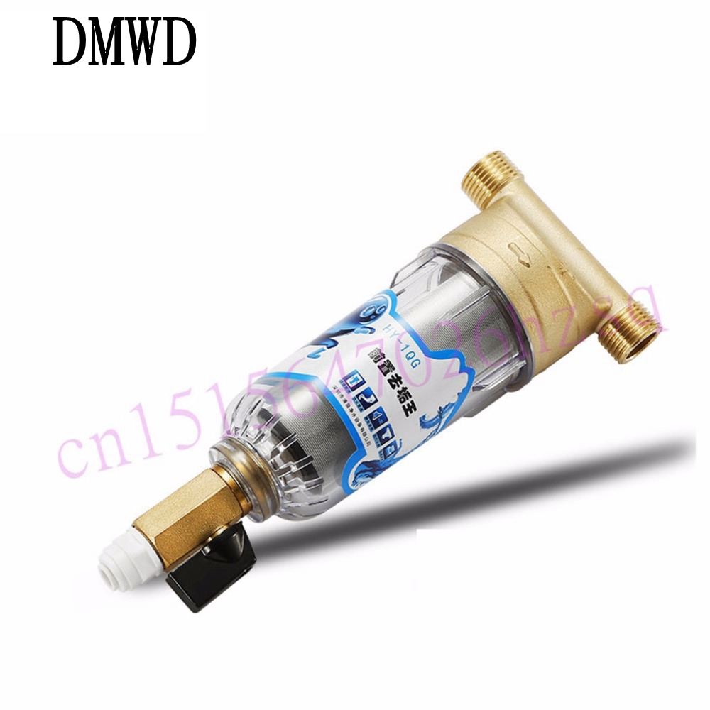 DMWD Water treatment Water purifier Water filter Household municipal water cleaning machine durable stainless steel parmanent