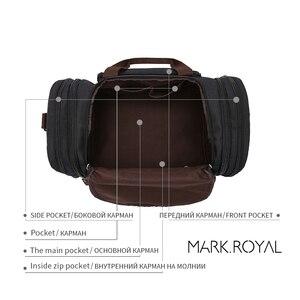 Image 4 - MARKROYAL Weiche Wasserdicht Männer Reisetaschen Tragen Auf Große Kapazität Duffle Wasser abweisend Taschen Hand Gepäck Wochenende Tasche Für frauen