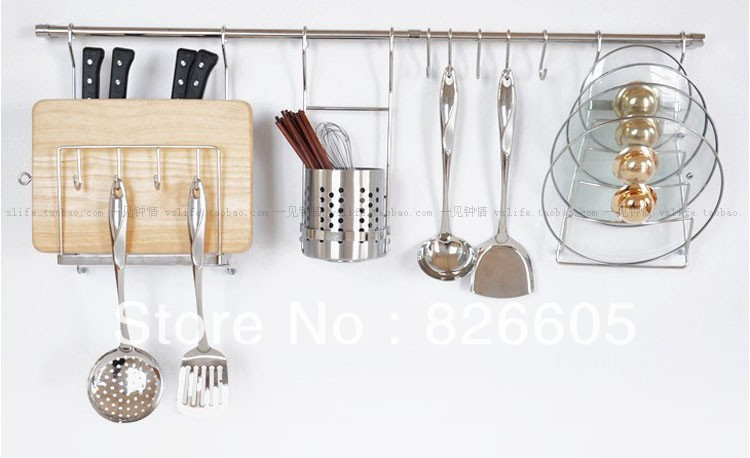 Kitchen Hooks For Pots And Pans Kitchen Design Ideas - Pot and pan hanger for kitchen