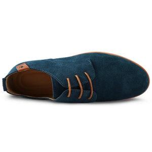 Image 2 - יוקרה Mens נעלי מזדמנים נעלי עור נעלי קיץ נעלי אוקספורד איטלקי סניקרס גברים חדש אביב דירות Zapatos Hombre Vestir