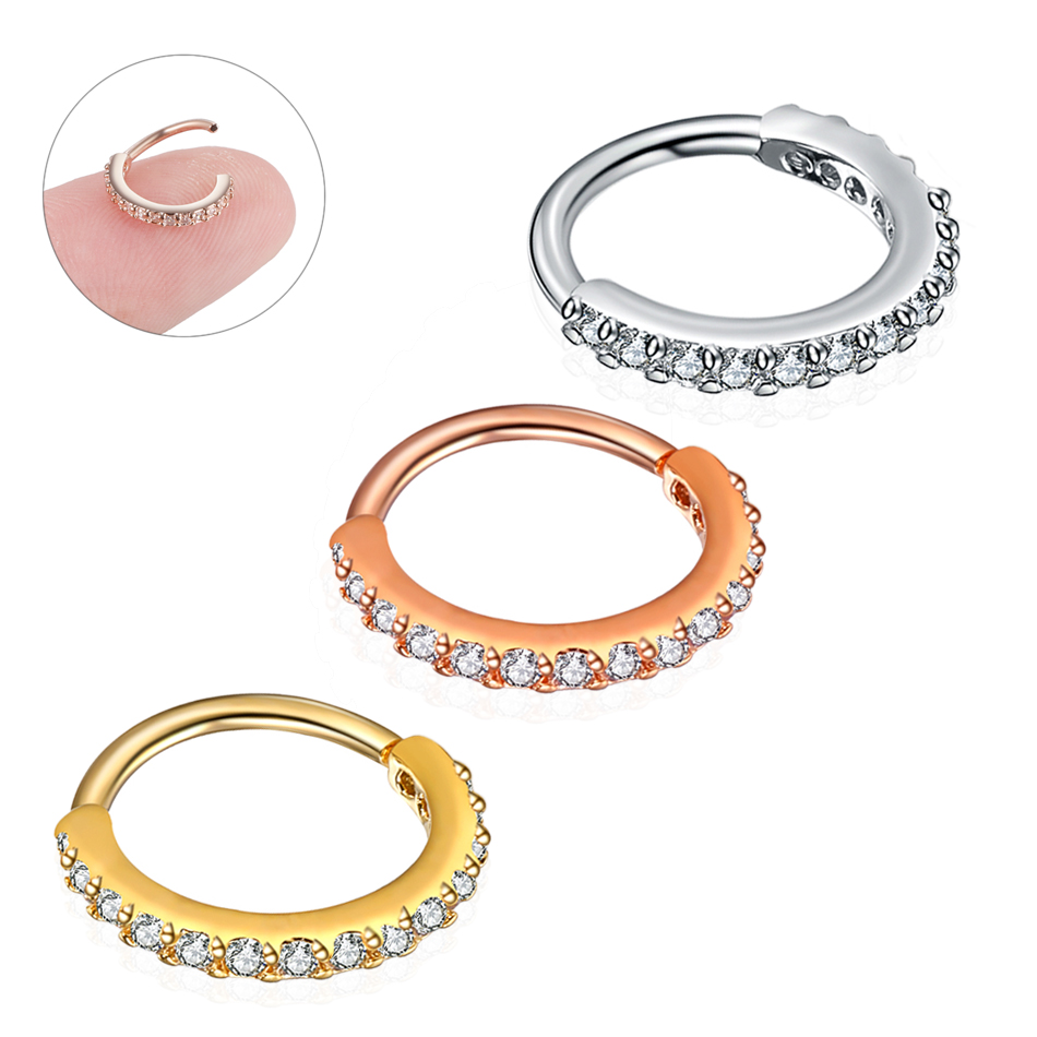 Small-Size-1Piece-Real-Septum-Rings-Pierced-Piercing-Septo-Nose-Ear-Cartilage-Tragus-Helix-Piercing-Clicker (4)