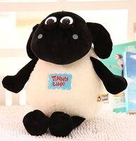 Peluş bebek 1 adet 30 cm 40 cm güzel karikatür yeni koyun Timmy Zaman ev dekorasyon çocuk doldurulmuş oyuncak yaratıcı hediye için bebek