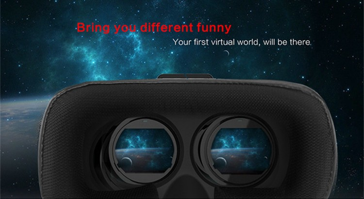 2016 New VR Self-Model Polarized Google Oculus Rift Cardboard Virtual Reality DK2 Gear 3D Glasses for 4.0-6.0 inch Smartphone (10)
