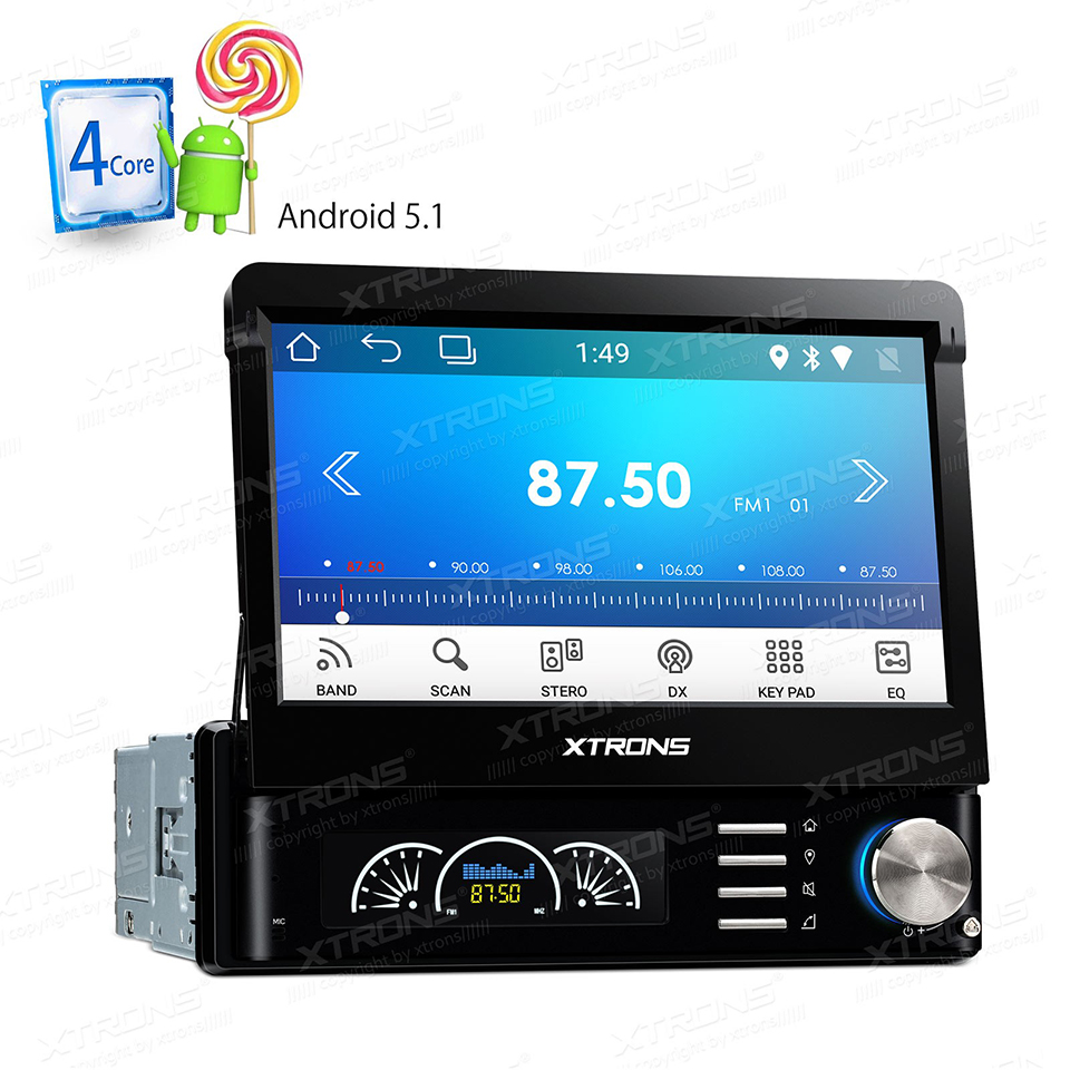 7 android universal single one 1 din dab radio car dvd. Black Bedroom Furniture Sets. Home Design Ideas