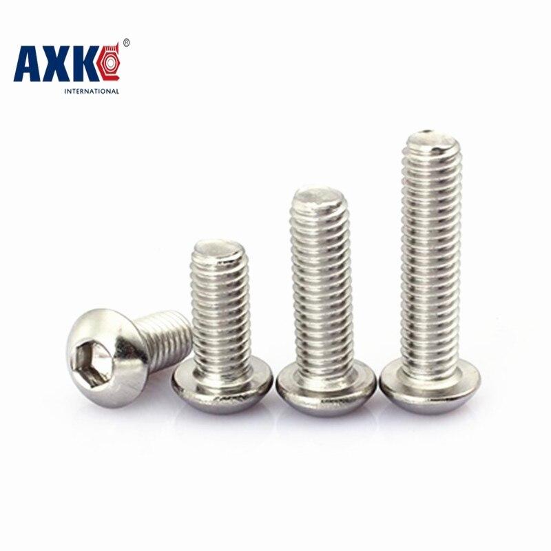 10-50pcs/lot M6*8/10/12/14/16/18/20/25/30/35/40/45/50/55/60/65/70/75/80-100 stainless steel 304 hex socket pan head screws 189 20pcs din7991 m6 10 12 16 20 25 30 35 40 45 50 m6 torx tamper proof security screw m5 a2 stainless steel anti theft screws