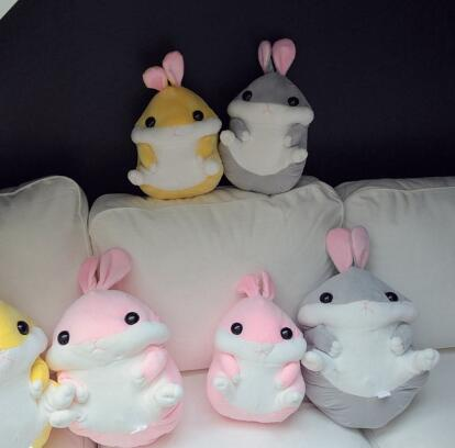 WYZHY sitting long eared ears rabbit plush toy doll home decoration bedside pillow to send friends and children gifts 40CM in Stuffed Plush Animals from Toys Hobbies