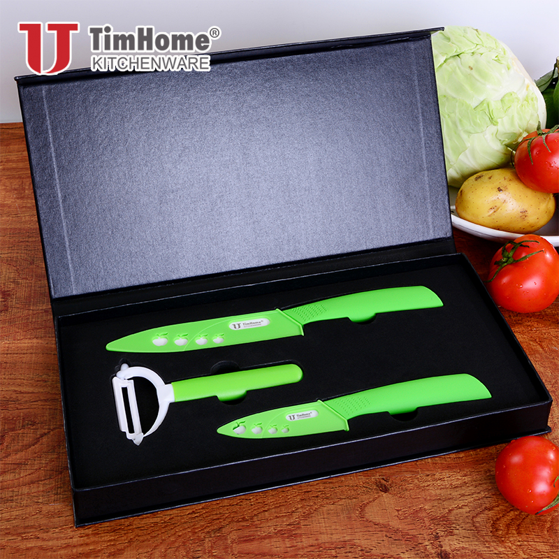 Pisau keramik set 3'5 'pisau buah kualitas tinggi pisau dapur - Dapur, ruang makan, dan bar