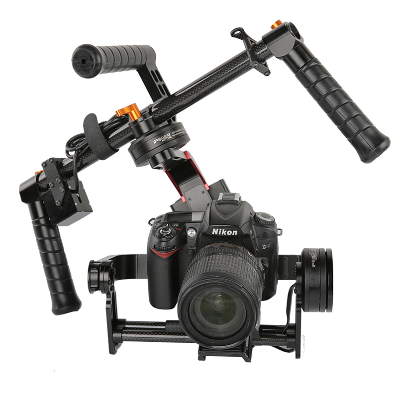 MOY SteadG-S 32bit Brushless Handheld 3-Axis Gimbal Camera Mount for 5D3 GH4 A7S BMPCC DSLR bestablecam h4 rtf brushless handheld encoder mirrorless digital camera gimbal gyro stabilizer for gh3 gh4 a7s nex5 bmpcc