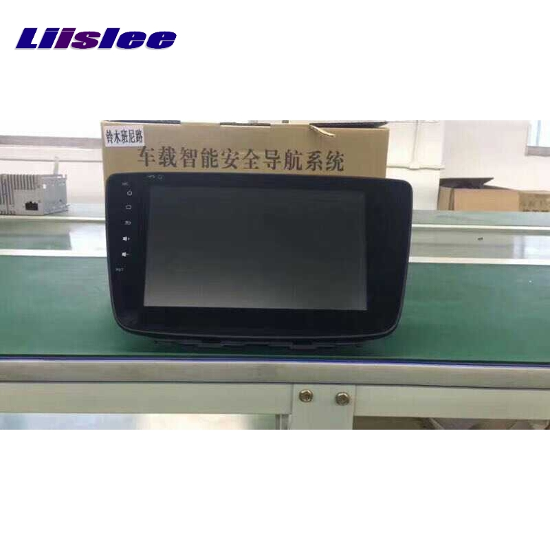 For Suzuki Baleno Maruti 2015~2017 LiisLee Car Multimedia TV DVD GPS Audio Hi-Fi Radio Stereo Original Style Navigation NAV