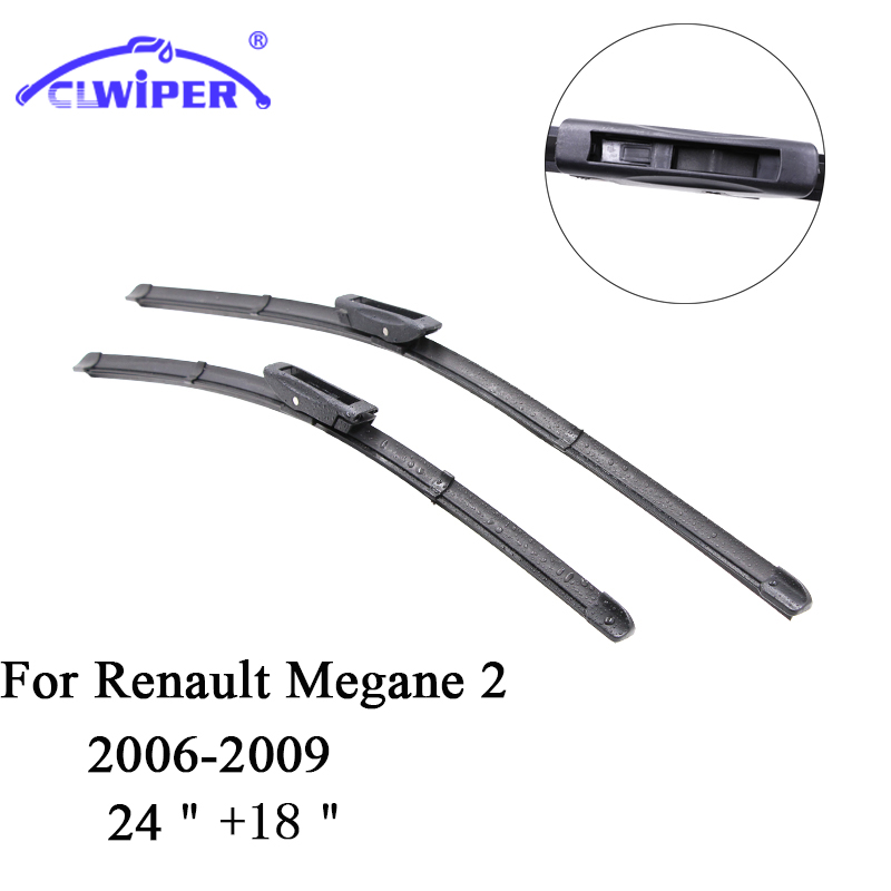 CLWIPER Wiper Blades For RENAULT MEGANE 2(2006 2009) 2007