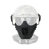 TMC2623 Helmet New Jay Fast Module PDW MESH Mask Tactical Airsoft Paintball Half Face Mask