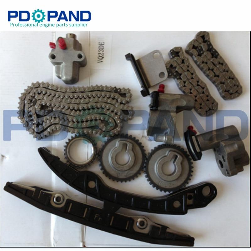 VQ23 VQ23DE  Engine Timing Chain Gear Tensioner Kit  for Nissan TEANA J31 V6 TK1038 2.3LVQ23 VQ23DE  Engine Timing Chain Gear Tensioner Kit  for Nissan TEANA J31 V6 TK1038 2.3L