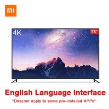 Xiaomi Smart TV 4 75 Inch Wireless Ultra-thin Body Intelligent Remote Control 4K HDR 2GB+32GB Dolby+DTS