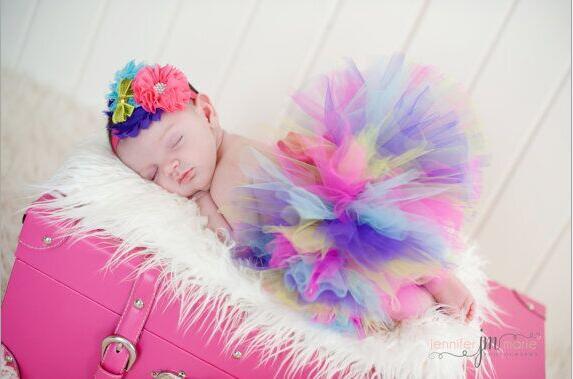 Cute Toddler Newborn Baby Girl Tutu Skirt /& Headband Photo Prop Costume Outfit