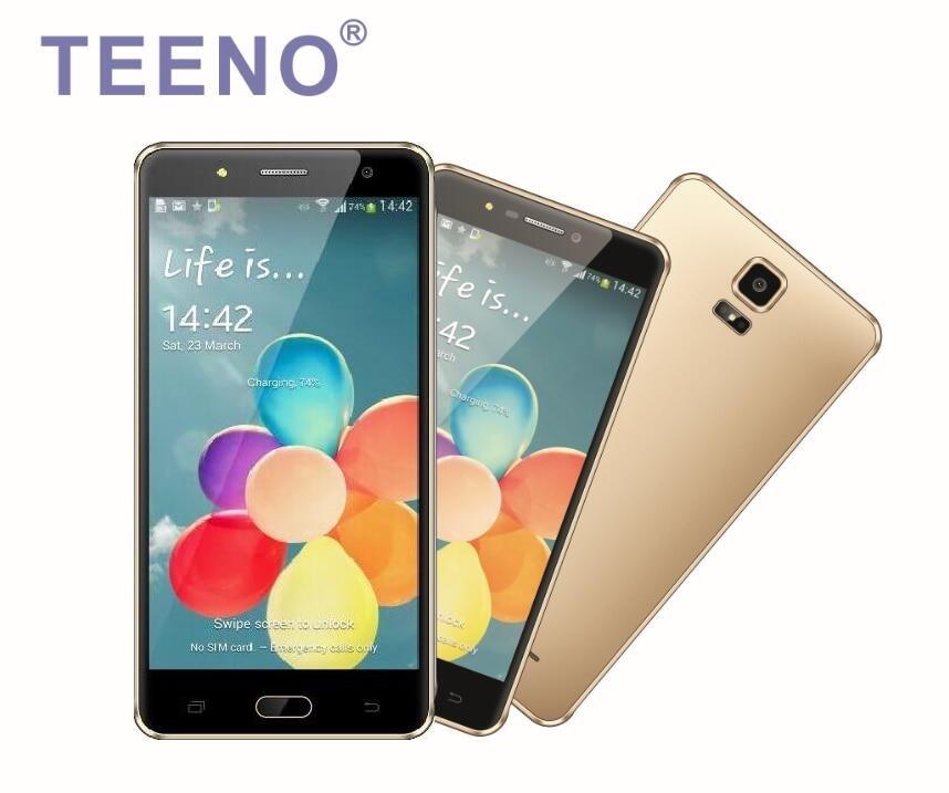 Free shipping original teeno q18 5 0 smartphone quad core - Telephone portable 8 megapixel ...