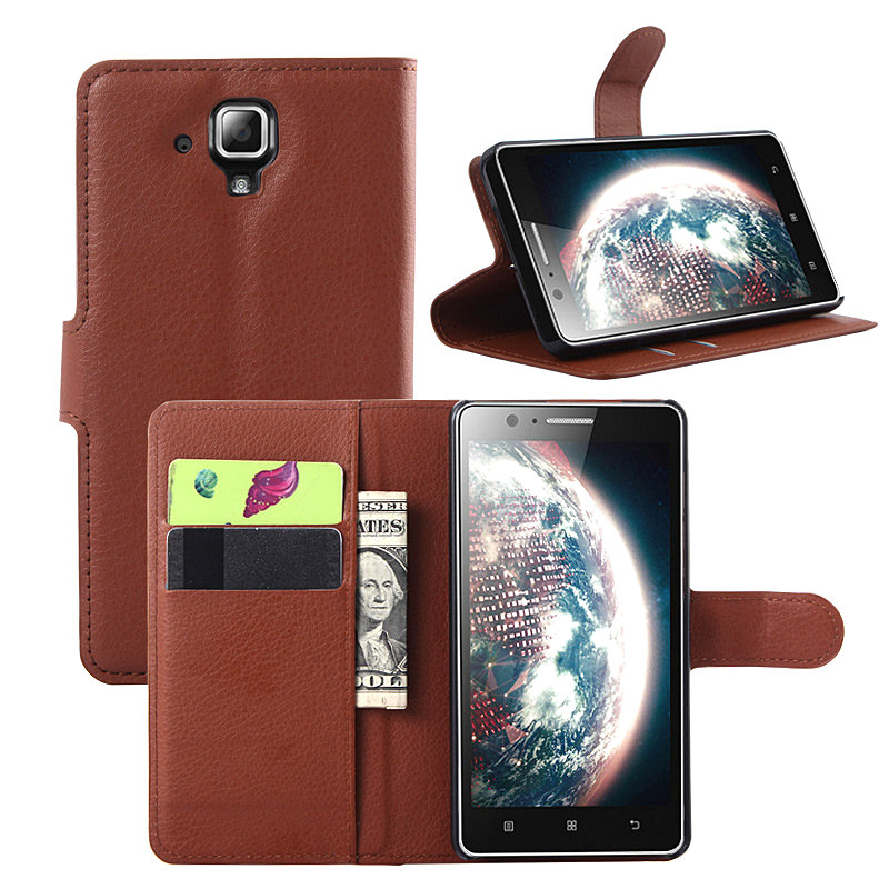 053599fc048 Effelon for Lenovo A536 case litchi texture flip leather cover case for  Lenovo A536 wallet style