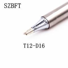 SZBFT Soldering Iron Tips T12-D16 B2 B4 BC1 BC2 BC3 BCF1 series for Hakko Soldering Rework Station FX-951 FX-952