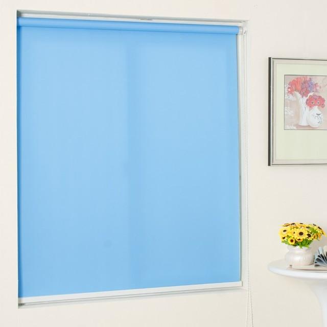 Cheap custom roller blinds office advertising pictorial canvas sun