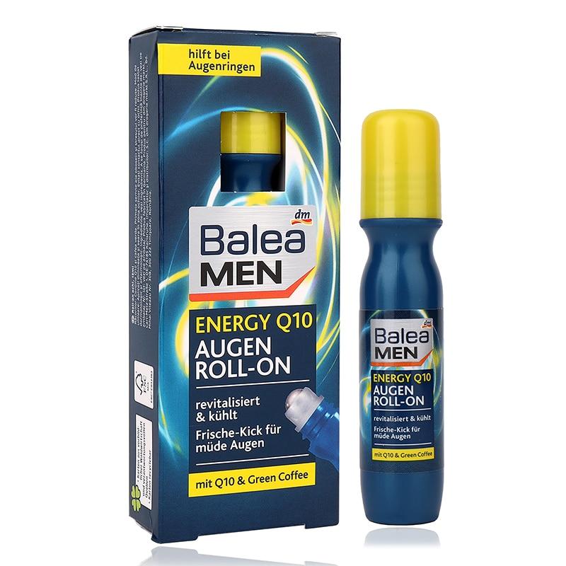 купить Germany Balea Men Energy Q10 Roll-on Eye Cream Powerful Antioxidant fatigue Reduce dark circles & puffiness Eye massage по цене 1202.88 рублей