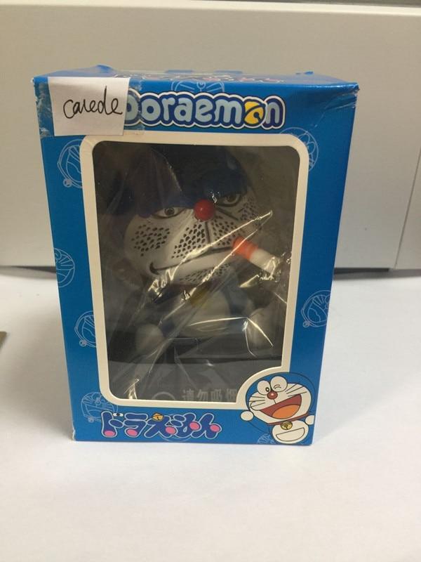 shaking head Doraemon toy Model Car decoration Anime Dolls Action figures PVC toy Anime Gifts 10cm