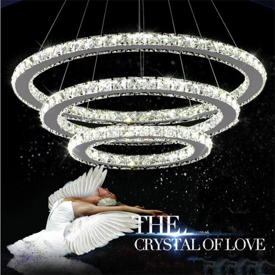 Modern led Crystal Chandelier Lighting Ceiling Chandeliers Light Lamparas Hanglamp Lampe lustres de LED Pendant Lamp Luminaire