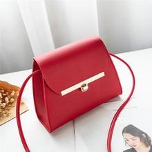 Flap Shoulder PU Leather Bags